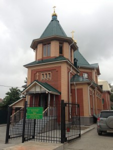 Храм во имя св. Олега Брянского
